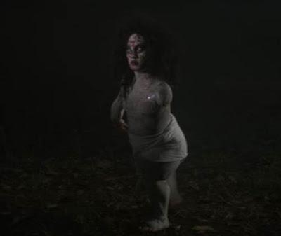 animasi hantu bergerak mengejutkan