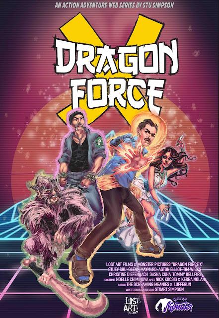 dragon force X poster art