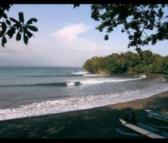 Pantai Batu Karas Spot Surf, Selancar Terbaik Di Pangandaran