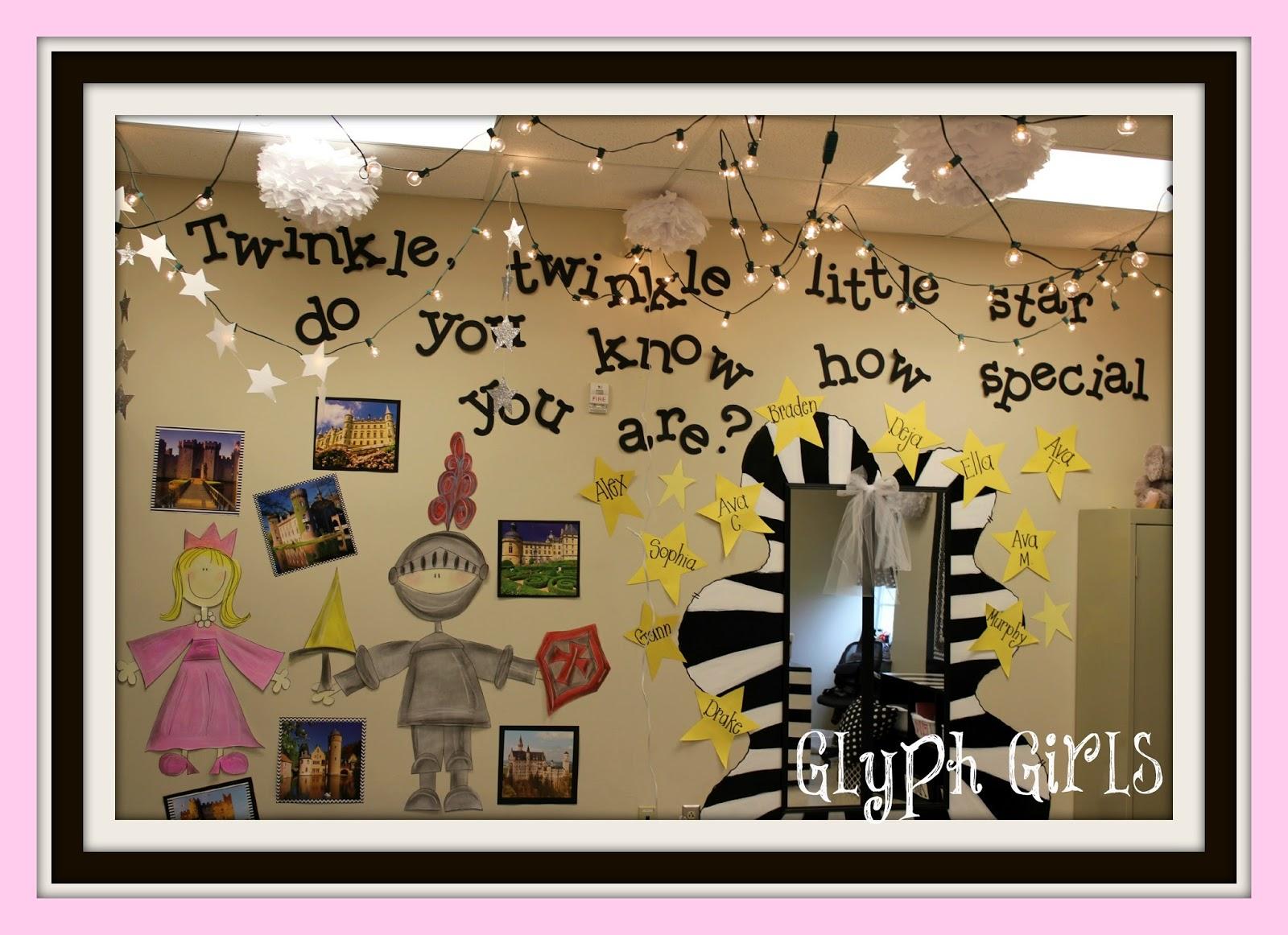 Glyph Girls New Classroom Kindergarten