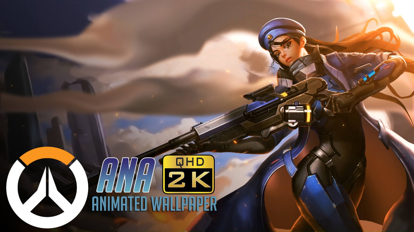 Ana | Animated Wallpaper QHD 1440p - Overwatch [Wallpaper Engine Free]