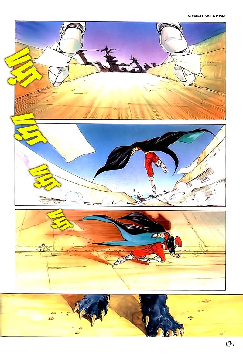 Cyber Weapon Z - Siêu Thần Z chap 2 - Trang 42