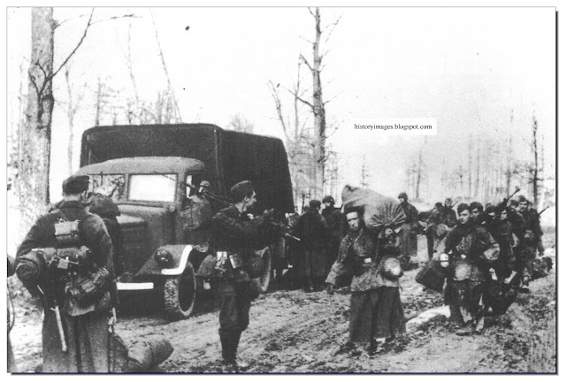 Wiking Waffen SS Division breaks out Korsun-Cherkassy Pocket
