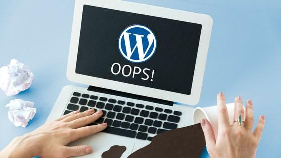 5 اخطاء شائعة في نظام WordPress مع طرق اصلاحها