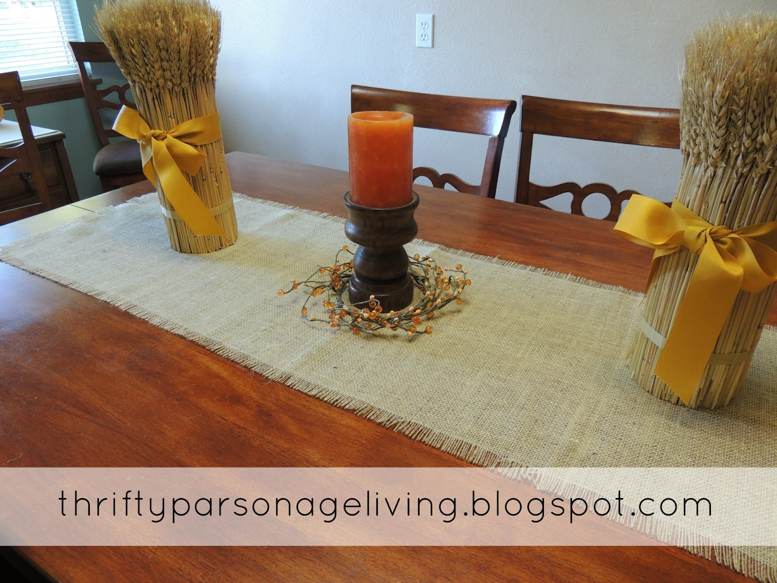I Love How The Burlap Adds Texture To Table Arrangement