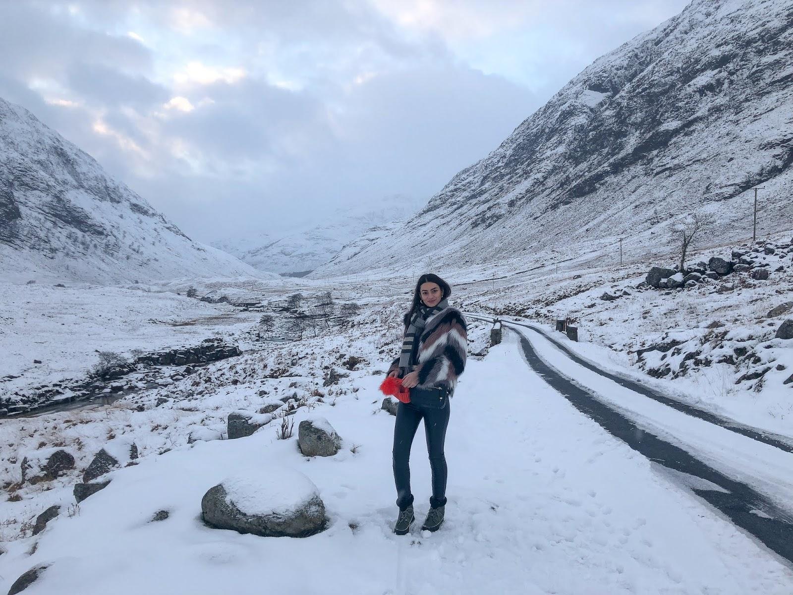 skyfall glencoe scotland