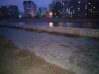 Набережная у СЗК Звездный город Астрахань