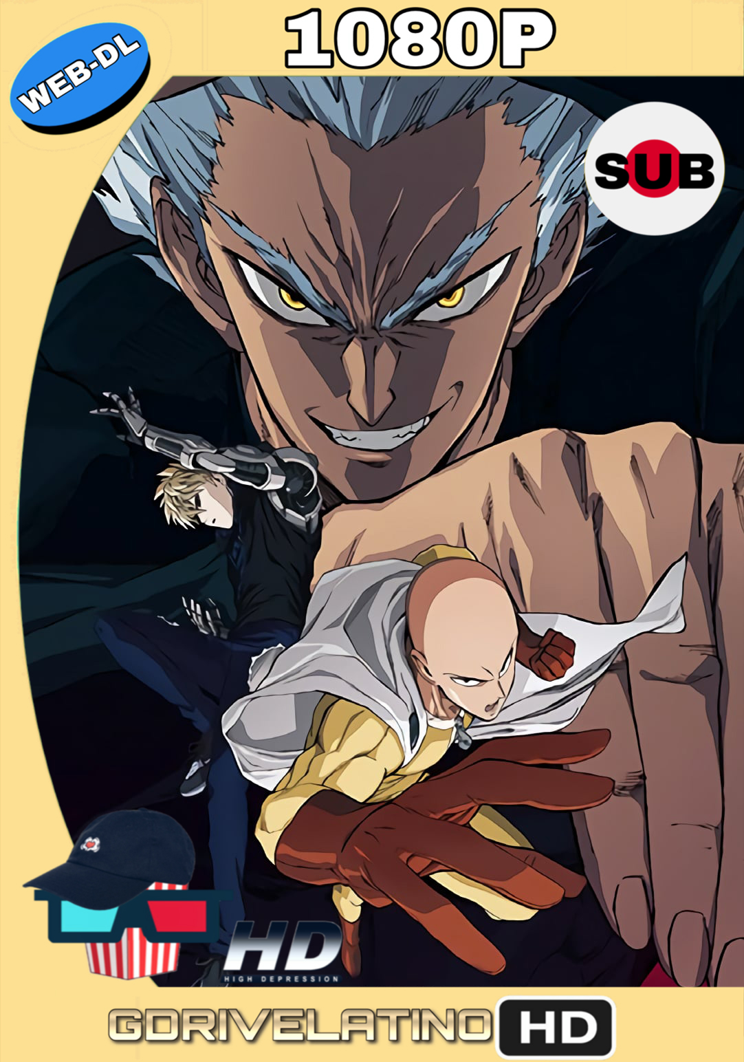 One Punch Man (2019) Temporada 2 (10/12) WEB-DL 1080p (Japonés) MKV