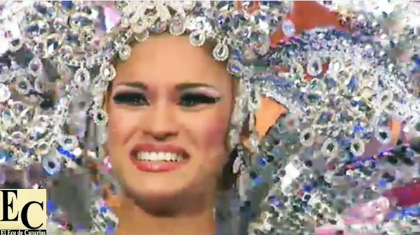Paula Miranda Reina del Carnaval de Las Palmas de Gran Canaria 2016