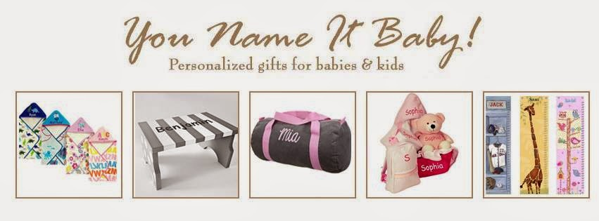 You Name It Baby! Personalized Gifts