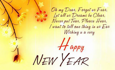 Greeting Happy New Year