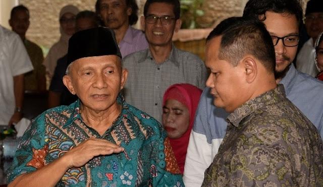 Buktikan, Muhammadiyah Tidak Terima Bila Amin Rais Dituduh Koruptor