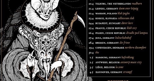 ALARIC: DARK PUNK COLLECTIVE UNITING CURRENT/FORMER MEMBERS OF DEAD AND GONE, NOOTHGRUSH, UK SUBS, (AND MORE) ANNOUNCE EUROPEAN TOUR DATES
