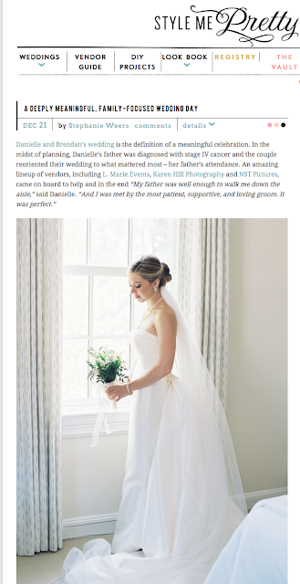 Featured Wedding, Style Me Pretty, Piping Rock Wedding