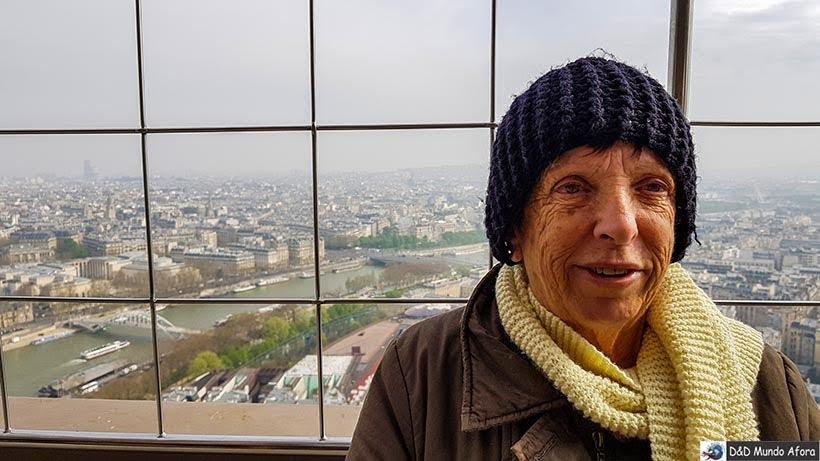 Terceiro andar da Torre - Como visitar a Torre Eiffel em Paris