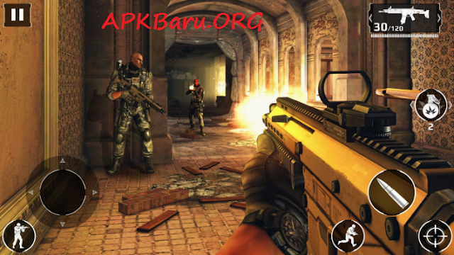 Modern Combat 5: Blackout v2.2.0I Mod APK + Data MC5 (Offline)