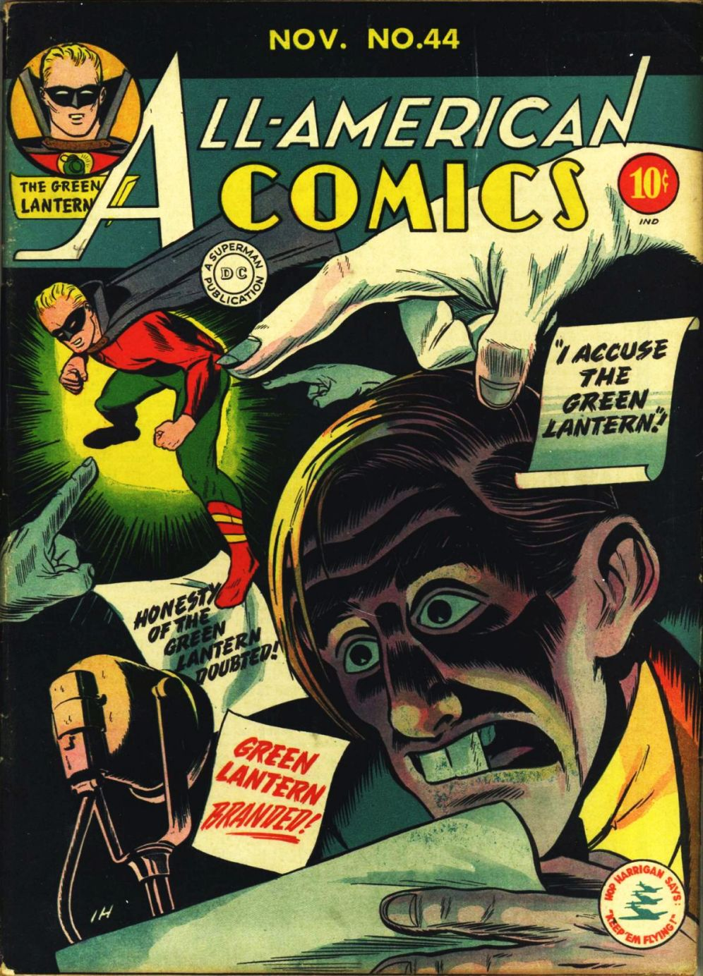 Read online All-American Comics (1939) comic -  Issue #44 - 1