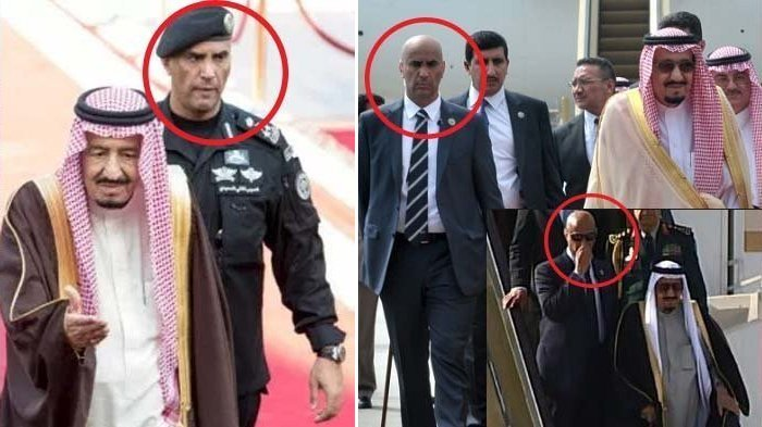 Siapakah Sosok Brigjen Abdul Aziz Al-Faghm, Bodyguard Khusus Raja Salman?