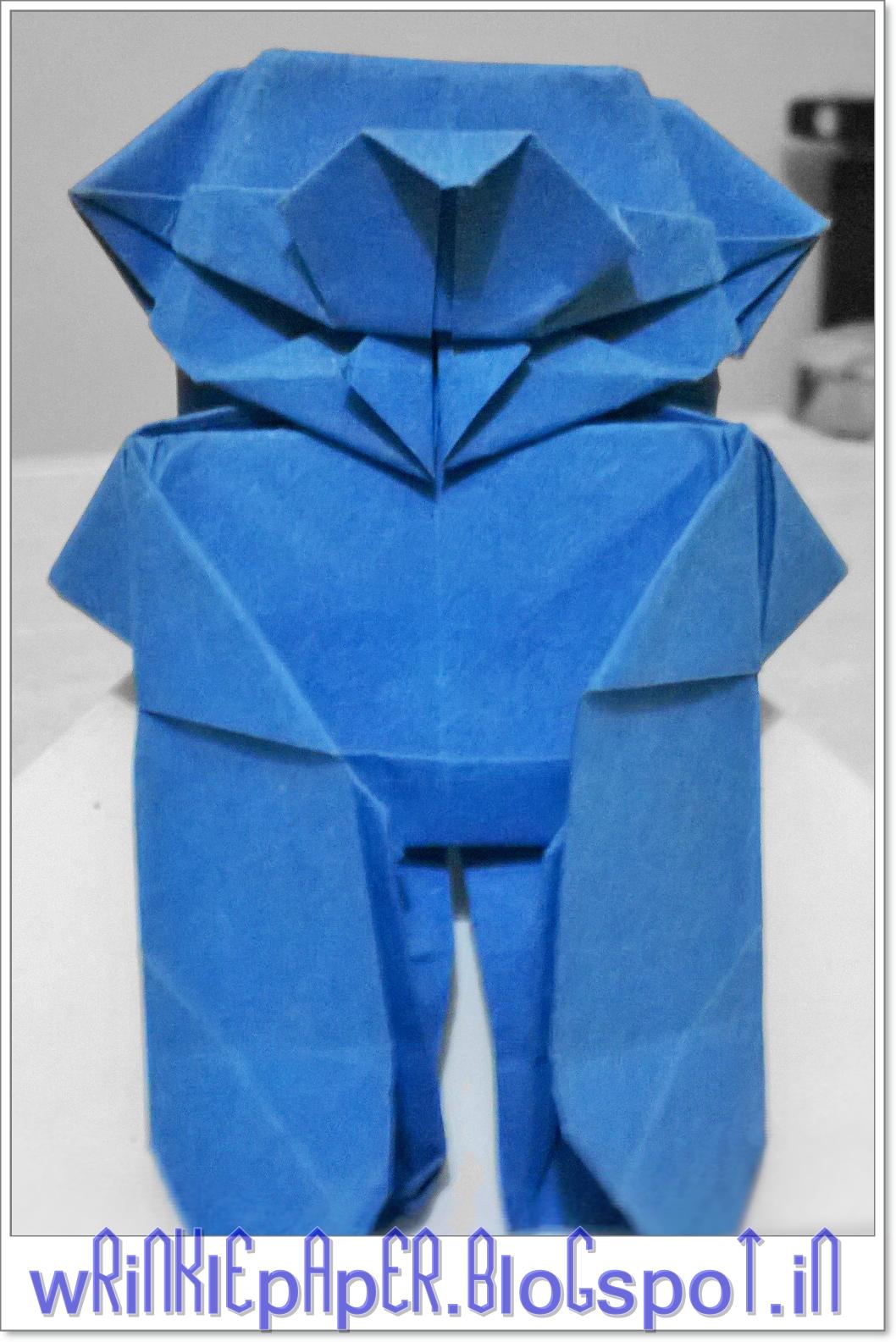 Origami Totoro (Robin Glynn) - YouTube   1585x1058