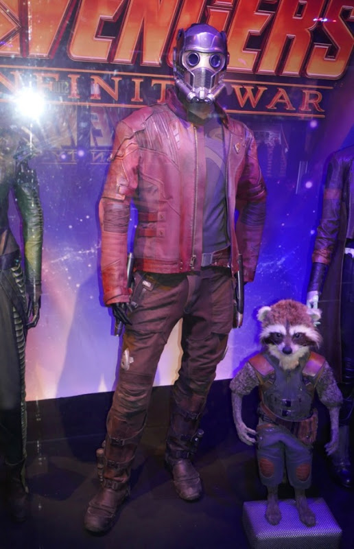 Chris Pratt Avengers Infinity War Star Lord film costume