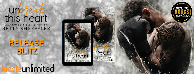 UNBREAK THIS HEART by Betty Shreffler @betty_shreffler @GiveMeBooksBlog #AvailableNow #NewRelease #Review #TheUnratedBookshelf