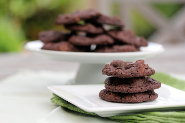Buttermilk Chocolate Cookies #chocolateparty