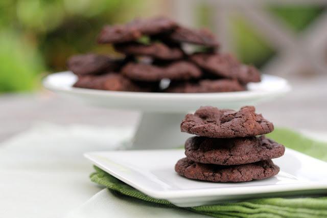 Buttermilk Chocolate Cookies #chocolateparty