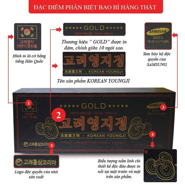 Nhận biết cao linh chi Hàn Quốc chính hãng