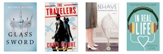 This month included YA novel in both dystopian and post-apocalyptic forms, a page turner, and a blast from the past.