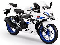 Harga Suzuki GSX-R150 Warna Putih Biru Terbaru