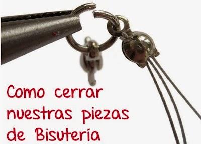Cómo cerrar nuestras piezas de Bisutería