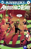 DC Renascimento: Arqueiro Verde - Anual #1
