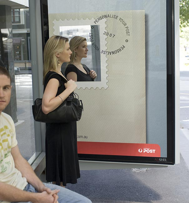 10. Australia Post: Personalize Your Post With Your Own Photo Ad Campaign