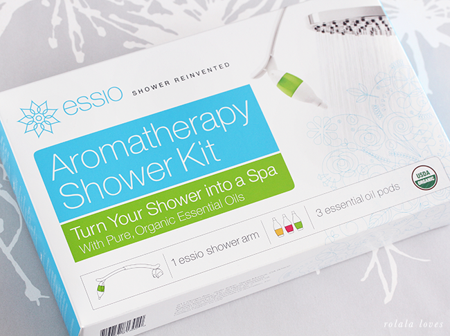 Aromatherapy in the Shower