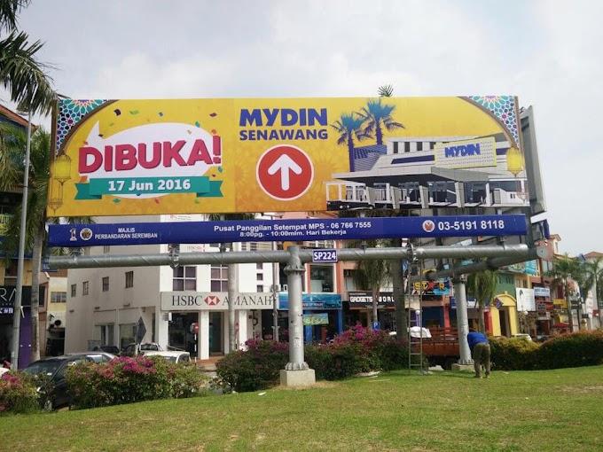 Pembukaan Cawangan Mydin Senawang.
