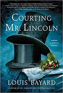 Book Review and GIVEAWAY: Courting Mr. Lincoln, by Louis Bayard
