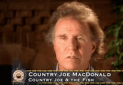 リーバイスドキュメンタリーの中でボブディランについて語るCountry Joe MacDonald