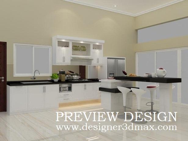 Kami Selalu Siap Memberikan Jasa Gambar Online Untuk Pembuatan Desain Interior Dapur