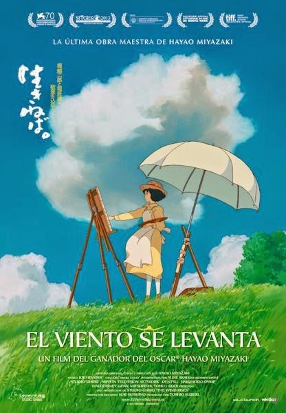 EL VIENTO SE LEVANTA (Hayao Miyazaki-2013)