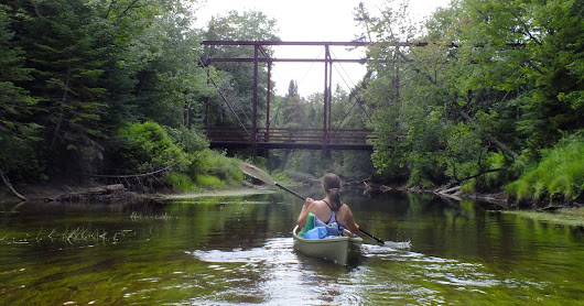 Paddling the Moose River