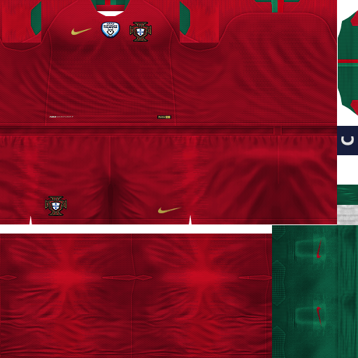new style 8029e 4a5c3 PES 6 Kits Portugal National World Cup 2018 by Dibu Edition ...