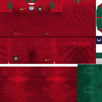 PES 6 Kits Portugal National Team Season 2018/2019 by Dibu Edition