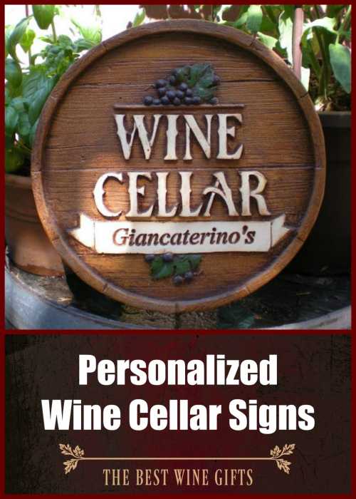 Personalized Wine Cellar Signs