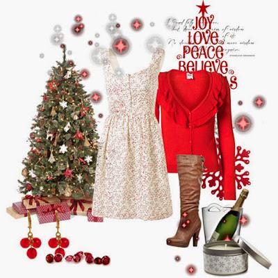 Outfits y Conjuntos para Fiestas de Navidad