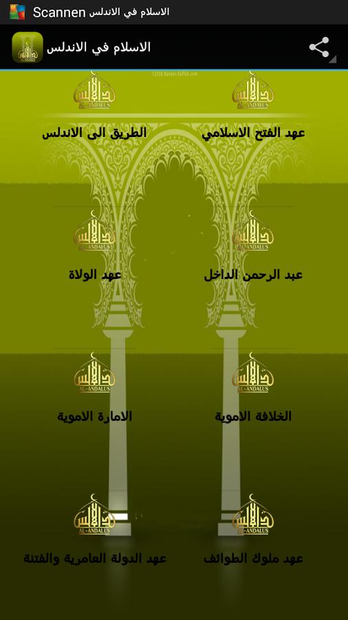 قصة الإسلام في الاندلس