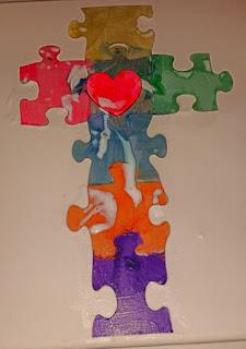puzzle cross 1