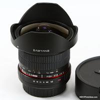 Samyang 8mm f/3.5 CSII HD Fish-eye (Canon mount)