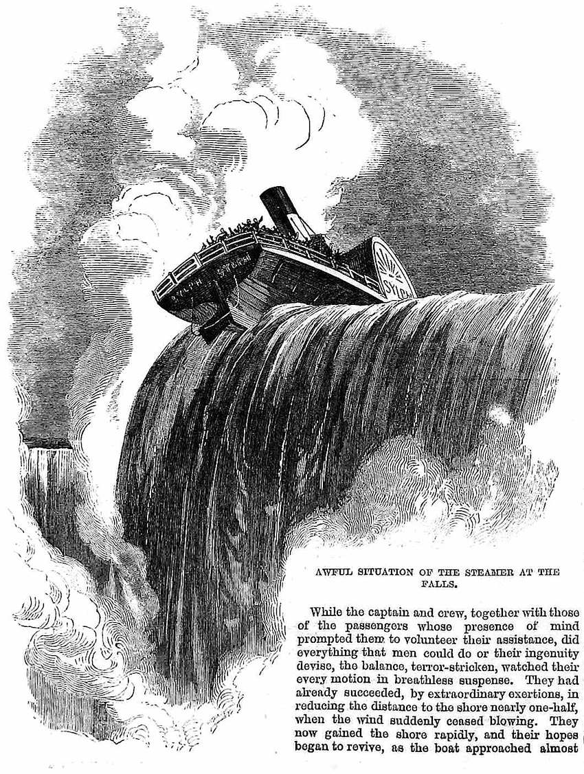 1864 Niagara Falls disaster incident