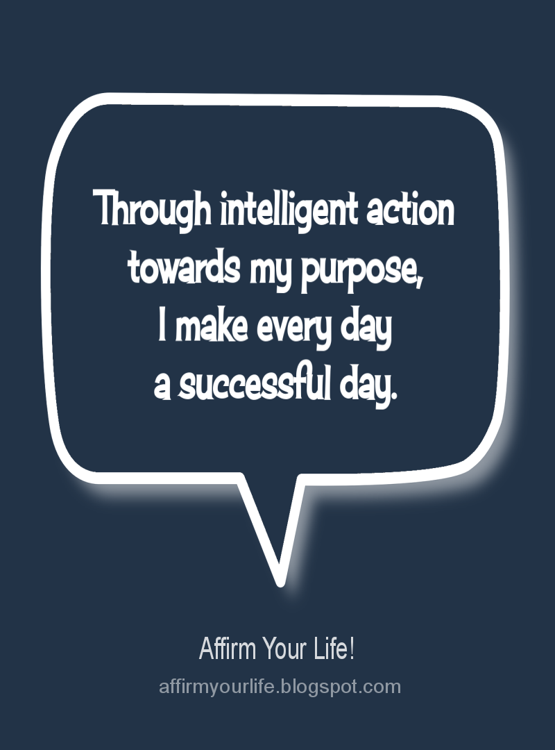 PURPOSE affirmation