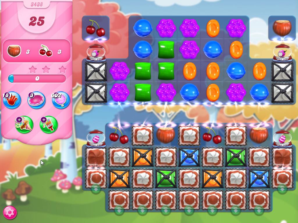 Candy Crush Saga level 3438